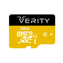 VERITY MicroSDHC Class 10 U1 95MB/S Memory Card With Adapter 32GB